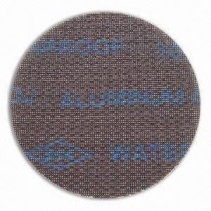 Plumbers Open Mesh Abrasive Cloth Waterproof / Hook and Loop Back / Net Sanding